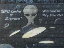 Australie UFO's in Wycliffe Well