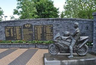 Ballymoney, birthplace of motorcycle racer Joey Dunlop