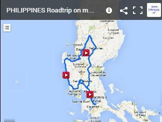 motorbike route Phillippines