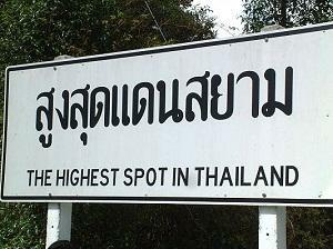 Thailand country with the everlasting smile