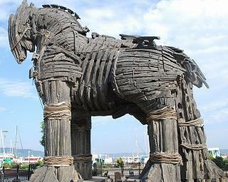 UNESCO World Heritage: The Trojan Horse Park.