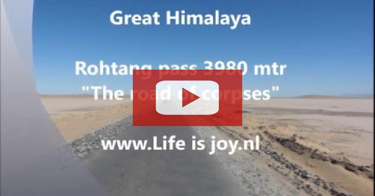 2/11 Rohtang pass Dangerous road